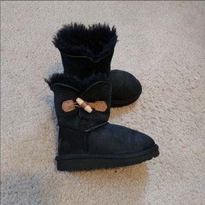 Black UGG Australia boots (size7)